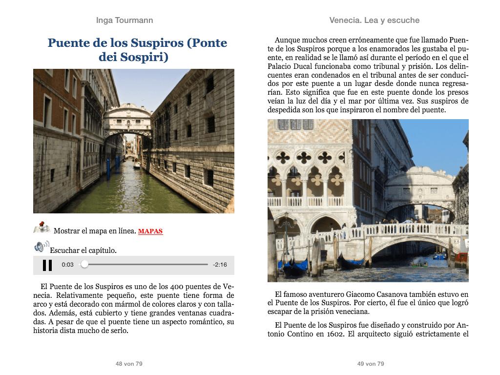 Venecia. Lea y escuche