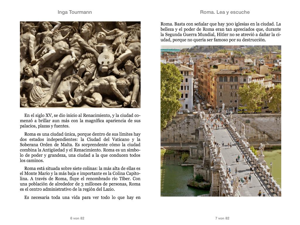 Roma. Lea y escuche