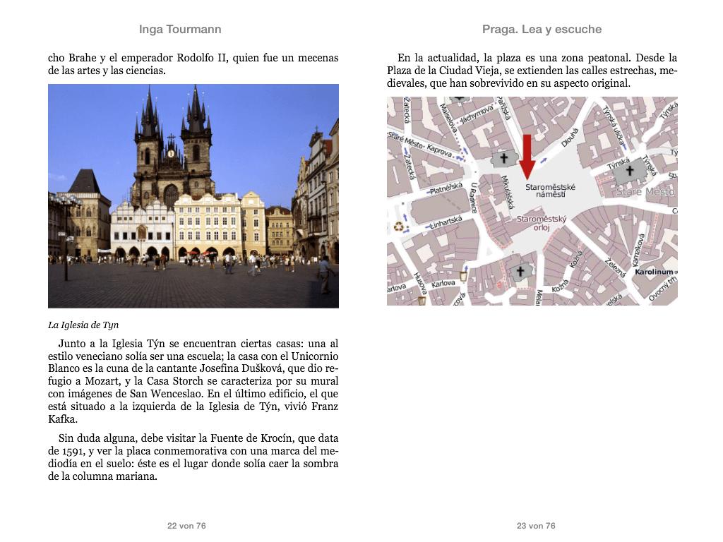 Praga. Lea y escuche