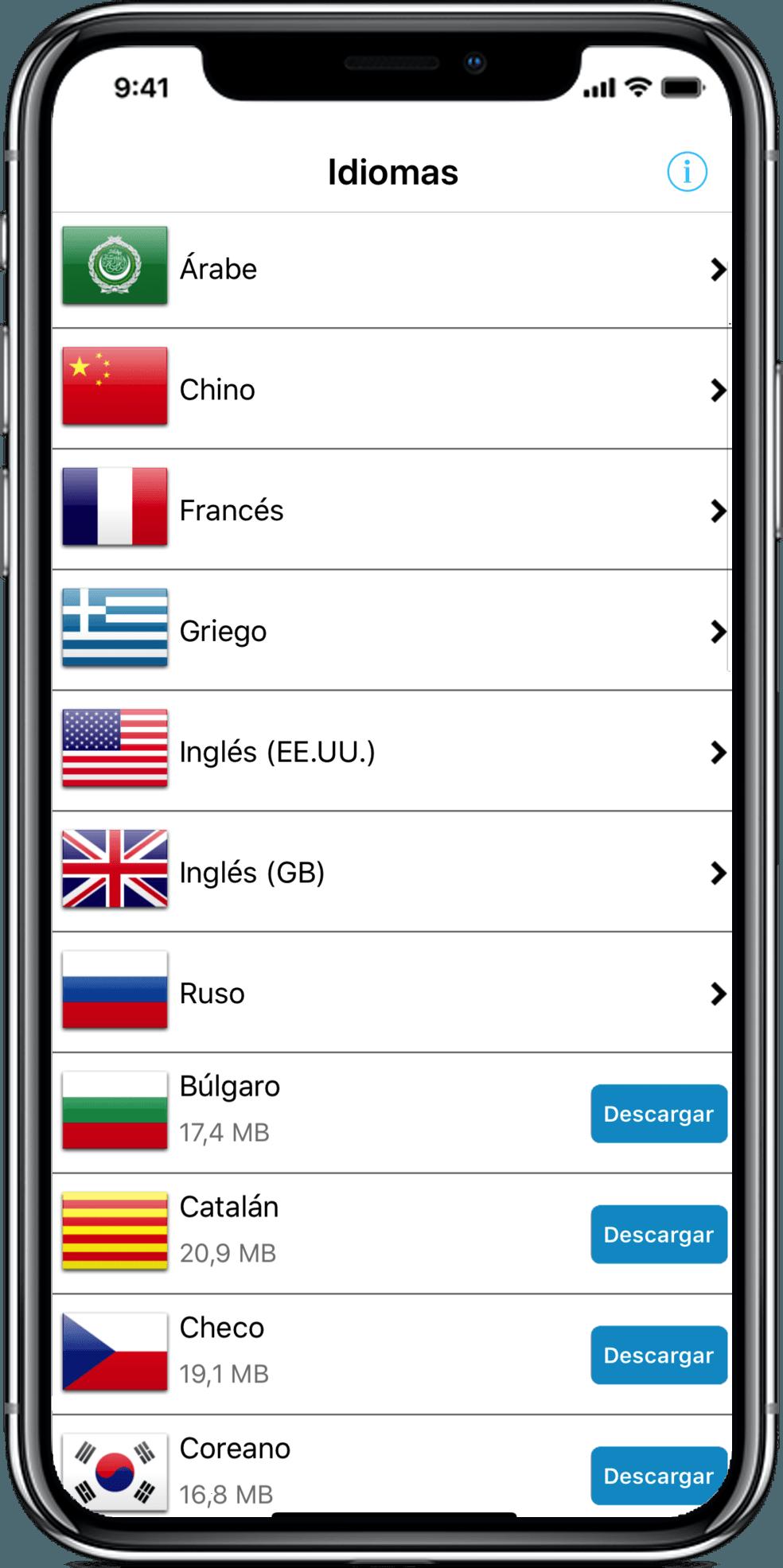 Traductor de viaje