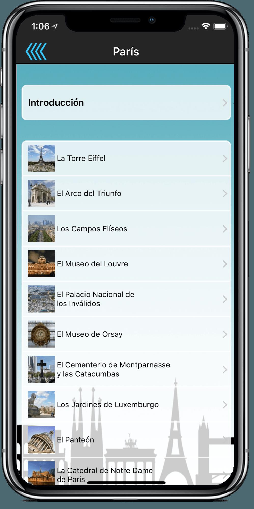 Audioguías de Ciudades