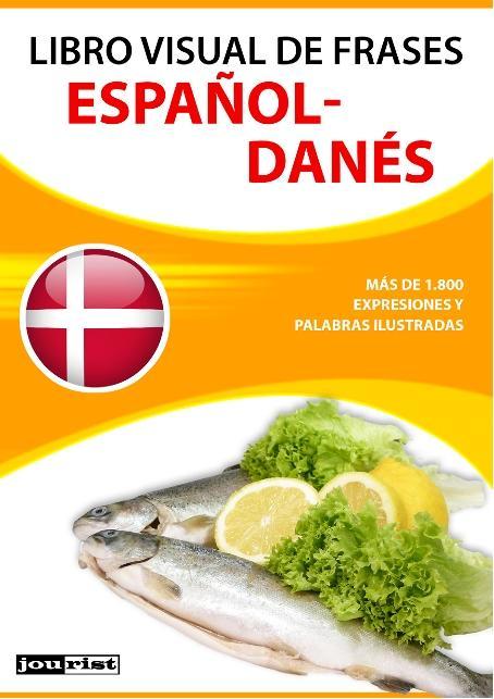 Libro visual de frases español-danés